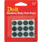 Do it 1/2 In. Green Round Felt Pad (24-Count) Image 2