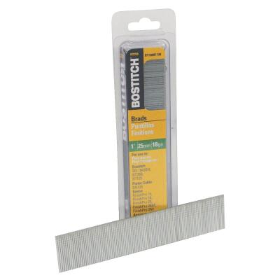 Bostitch 18-Gauge Coated Brad Nail, 1 In. (3000 Ct.)