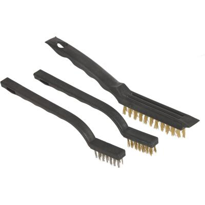 Great Neck Wire Brush Set, (3-Pack)