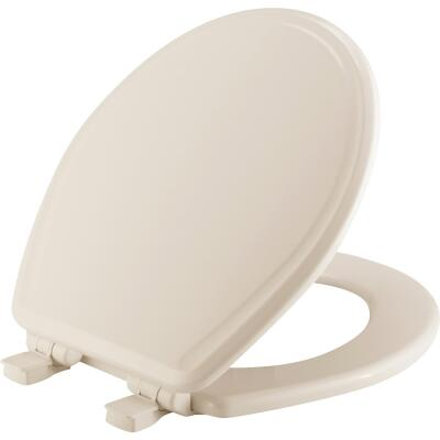 Mayfair Round Closed Front Slow Close Biscuit Toilet Seat