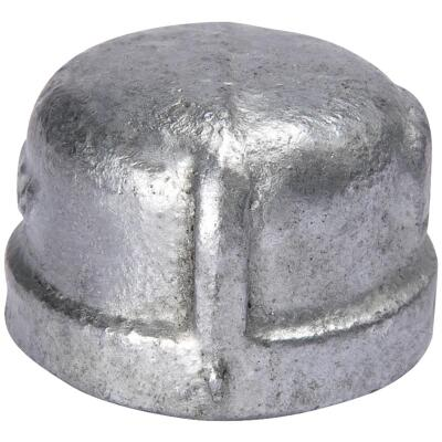 Southland 1-1/4 In. Malleable Iron Galvanized Cap