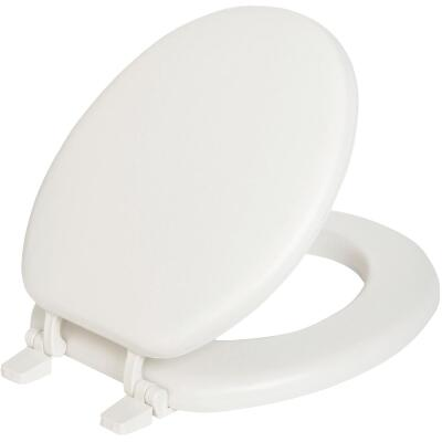 Mayfair Round Closed Front Soft White Toilet Seat