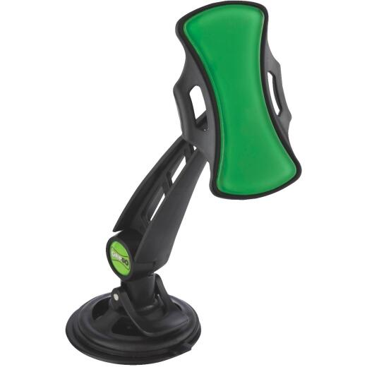 GripGo Windshield or Dashboard Mount Black GPS/Cell Phone Holder