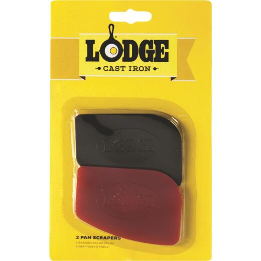 Lodge Pan Scraper Spatula Set (2-Piece)