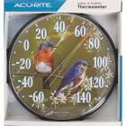 "Acurite 12-1/2"" Fahrenheit -60 To 140 Outdoor Wall Thermometer Image 2"