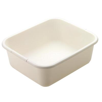 Rubbermaid 11-1/2 Qt. Bisque Dishpan