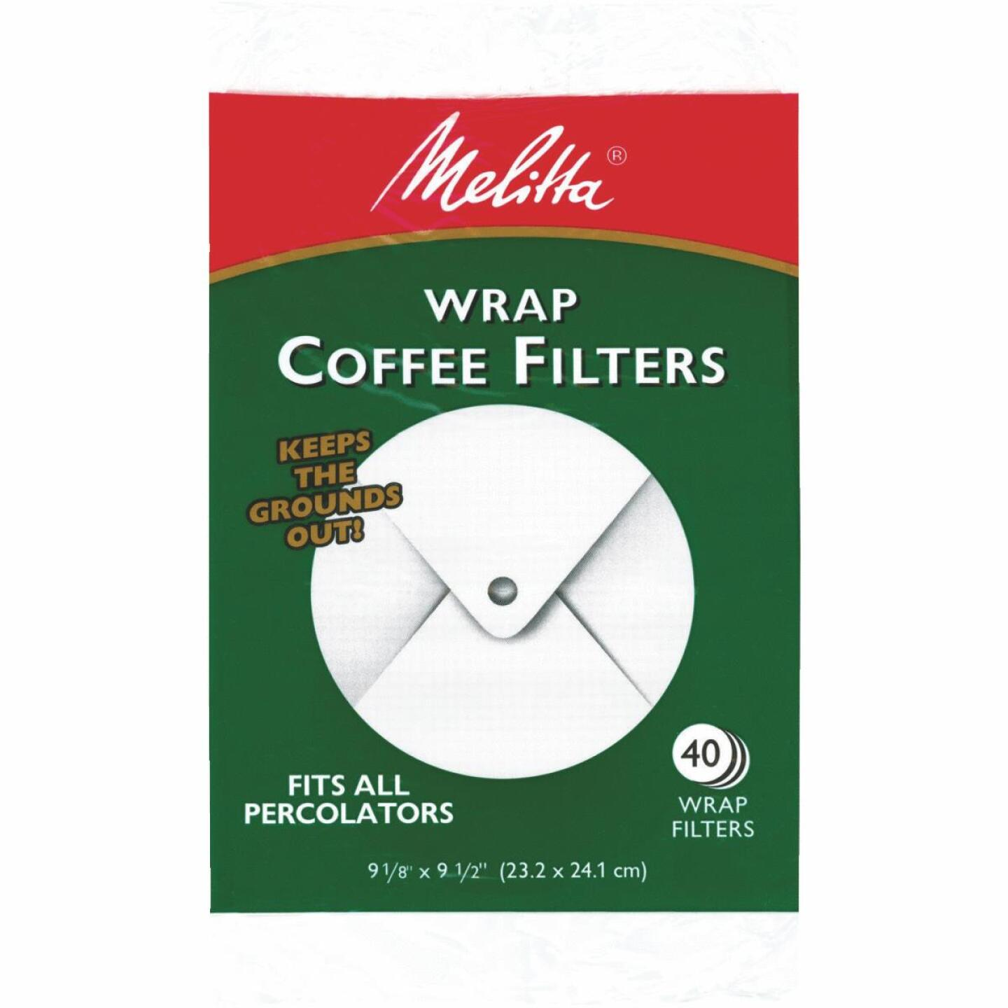 Melitta White Wrap Coffee Filter (40-Pack) Image 1