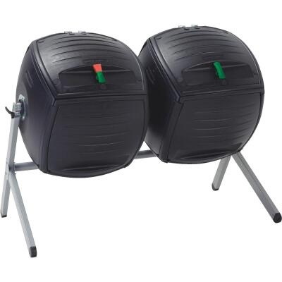 Lifetime Products Black Dual Composter (100-Gallon)