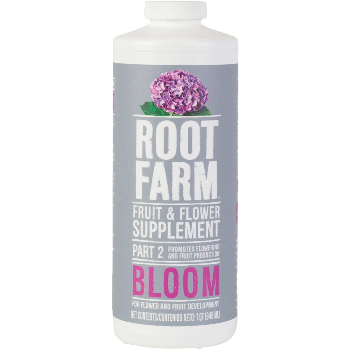 Root Farm 1 Qt. Concentrated Liquid Fruit & Flower Supplement Nutrient Part 2 Image 1