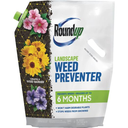 Roundup 13 Lb. Ready To Use Granules Landscape Weed Preventer
