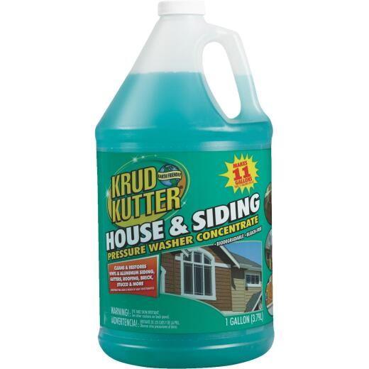Krud Kutter House and Siding Cleaner Pressure Washer Concentrate, 1 Gal.