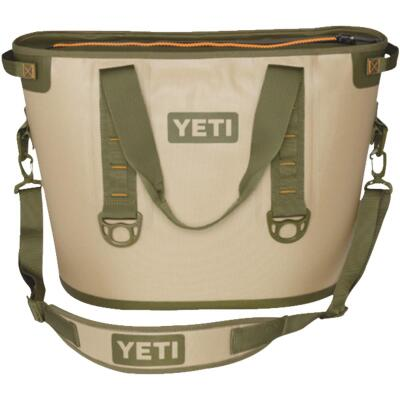 Yeti Hopper Tan Soft-Side Cooler (24-Can)