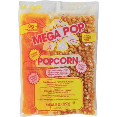 Gold Medal Mega Pop 6 Oz. Popcorn Kit (36 Kits)